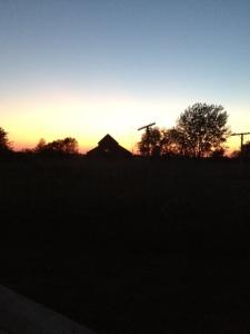 NE last sunset
