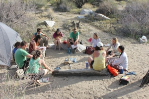signal fire coyote canyon mfa spring break trip 2013