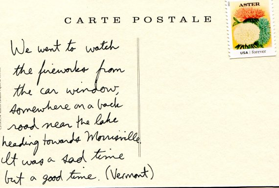 Vermont memory - postcard