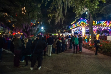 """Carnival"" @ the Celebration in the Oaks, New Orleans City Park, 12/29/2014.  Format: digital via DSLR."