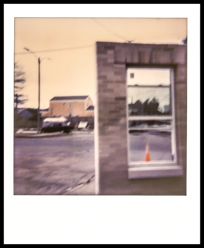 """December 30th, 2014"" New Orleans, 12/30/2014. Format: Impossible instant color film via Polaroid SX-70 camera."