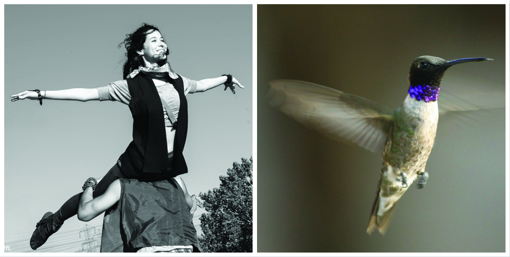 YANINA and bird